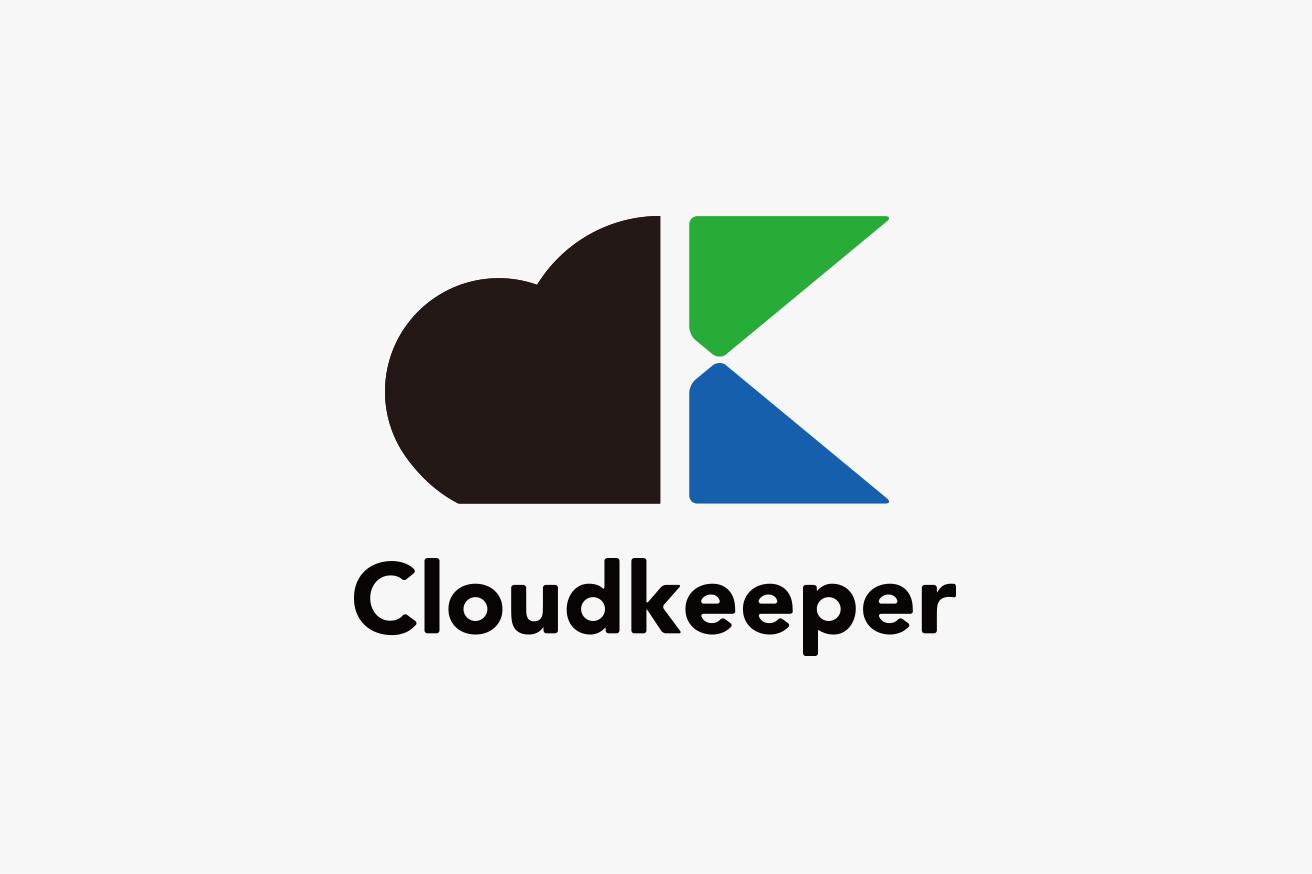 Cloudkeeperロゴデザイン