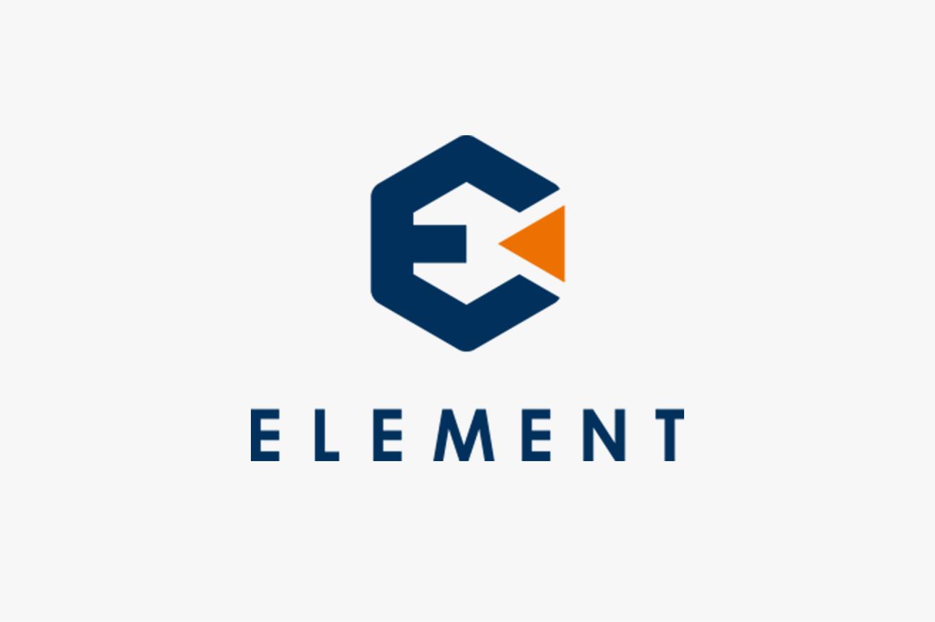 ELEMENTロゴデザイン